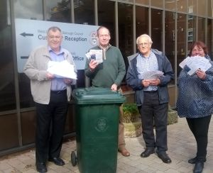 green bin petition